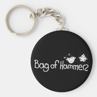 Bag of Hammers Classic Keychain