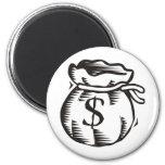 Bag of Money Magnet