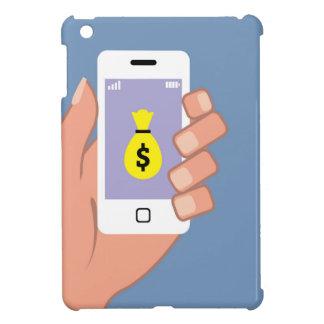 Bag of money Smartphone in Hand App iPad Mini Cases