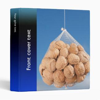 Bag of nuts vinyl binder