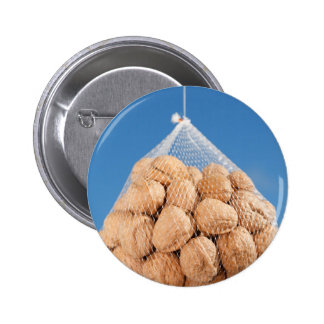 Bag of nuts pinback button
