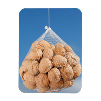 Bag of nuts rectangular photo magnet