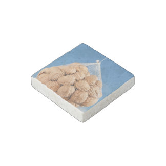 Bag of nuts stone magnet