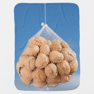 Bag of nuts swaddle blanket