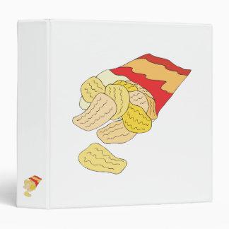 bag of potato chips binder