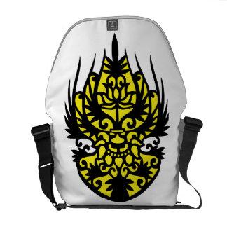 Bag of traditional pattern messenger bag