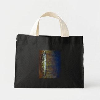 "Bag - Oil Painting ""Mackerel"""
