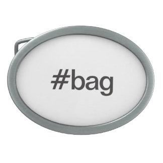 bag oval belt buckles