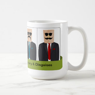 Bag Over Head Man of Mystery and Disguises Mug