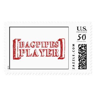 Bag Pipes  Player Postage