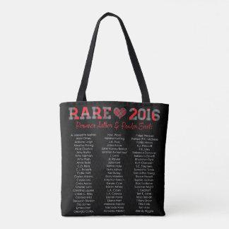 bag, rare, rare16, black tote bag