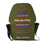 Bag Rickshaw Over 40 Template Colors Customize Courier Bag
