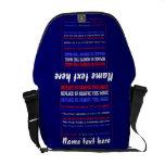Bag Rickshaw Over 40 Template Colors Customize Messenger Bag