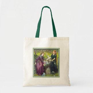 Bag: Rossetti - Dante's Vision of Rachel & Leah Budget Tote Bag