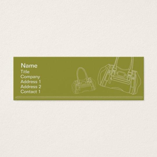 Bag - Skinny Mini Business Card