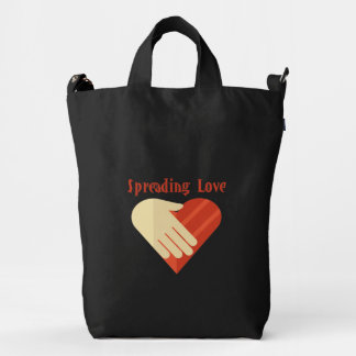 Bag Spreading Love women's tote bag