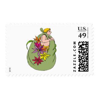 Bag-Sprite Postage Stamps