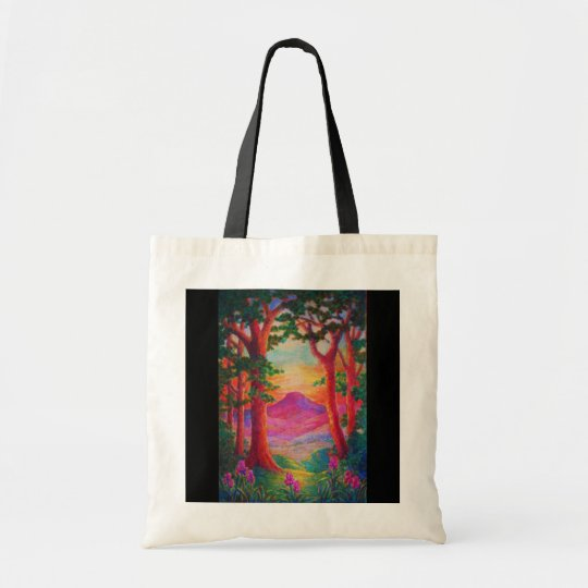 Bag-Stained Glass-3 Tote Bag