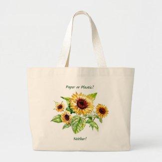 Bag, Sunflowers bag