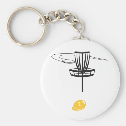 bag tag basic round button keychain
