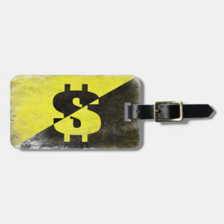 Bag Tag with Cool Anarcho-Capitalist Flag