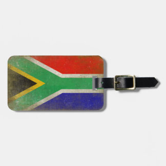 Bag Tag with Flag from South Africa