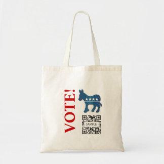 Bag Template Democrat Donkey