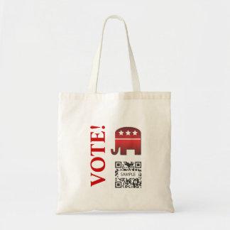 Bag Template Republican Elephant