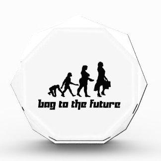Bag to the Future Acrylic Award