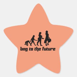 Bag to the Future Star Sticker