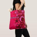 "Bag tote ""Abstract Pink STAR """
