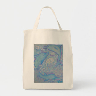 Bag Tote - Happy Dolphins