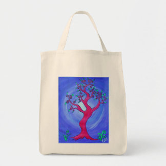 Bag Tote - Simply Redthe Tree