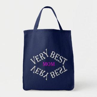 BAG- VERY BEST MOM-DESIGN GIFTS TOTE BAG