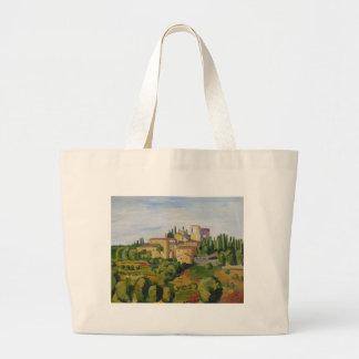 Bag: View in Tuscany Jumbo Tote Bag