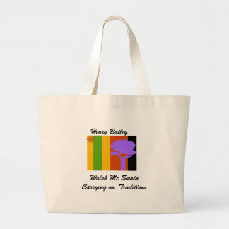 bag, Walsh Mc SwainCarrying on  Tr... - Customized Large Tote Bag