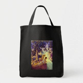 Bag: Waterfall - Maxfield Parrish