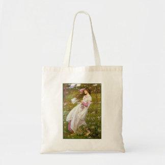 Bag: Windflowers - John Waterhouse Budget Tote Bag