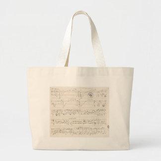 bag with chopin's manuscript