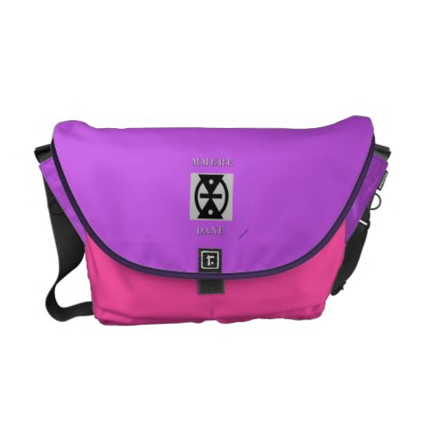 Bag with design - Messenger style