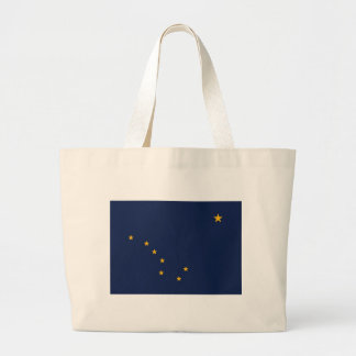 Bag with Flag of  Alaska State - USA