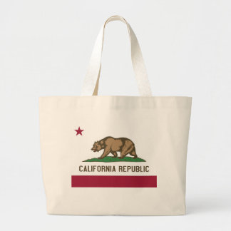 Bag with Flag of  California State - USA