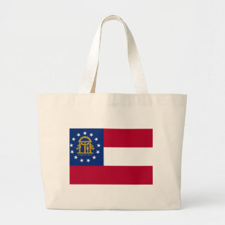 Bag with Flag of  Georgia State - USA