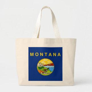 Bag with Flag of Montana State - USA