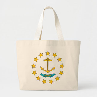 Bag with Flag of Rhode Island State - USA