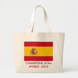 Bag with Flag of Spain