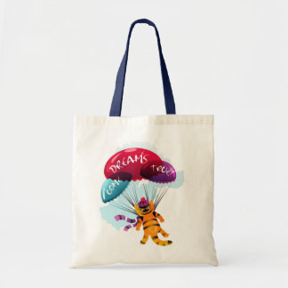 Bag with flying cat picture