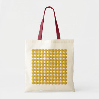Bag With Golden Studs Decoration