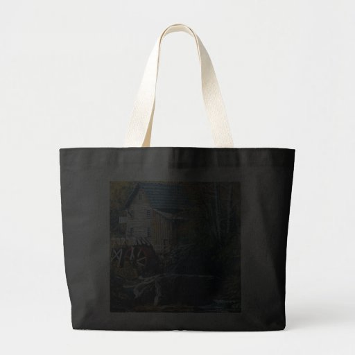 """Bag with """"OLD GRIST MILL"""""""
