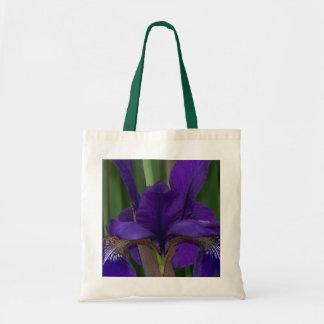 Bag with Purple Iris